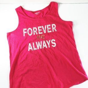 Crazy 8 Girls Graphic Tank Top Size XL (14)